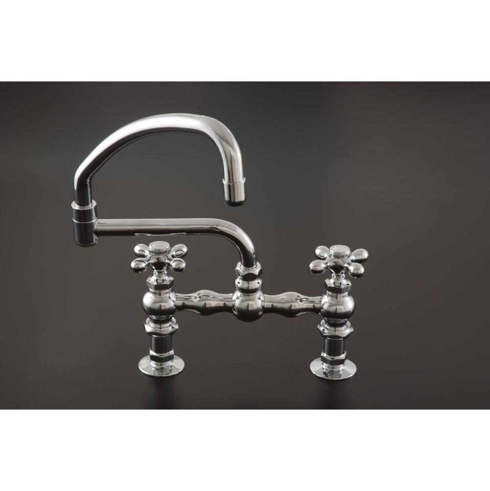 Sign Of The Crab Bridge Kitchen Faucets item P0833C