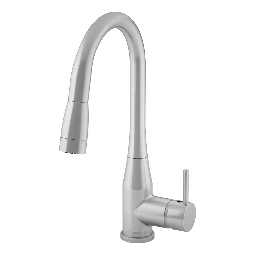 Symmons Single Hole Kitchen Faucets item S-2302-STS-PD