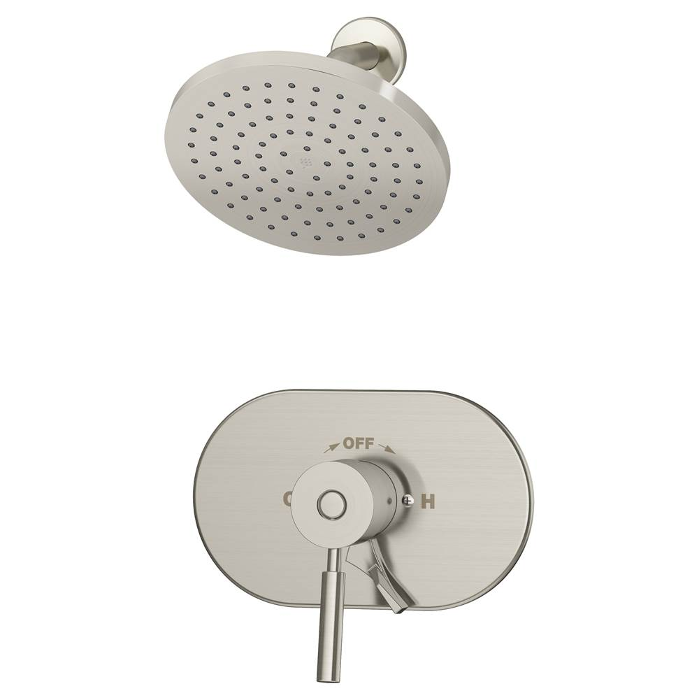 Symmons  Shower Only Faucets With Head item S-4301-STN-IPS