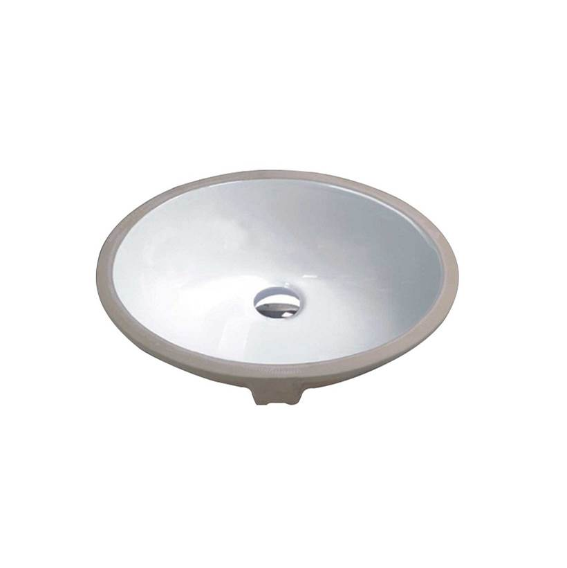 Tidal Bath Undermount Bathroom Sinks item CUS-100