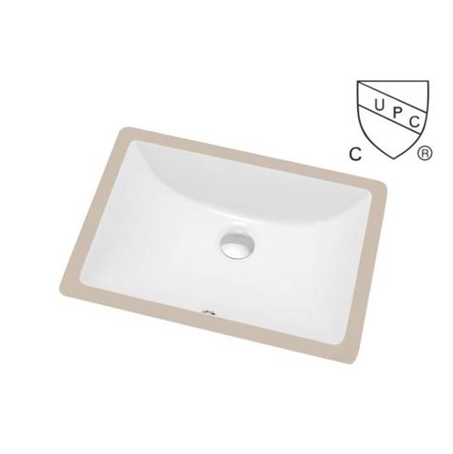 Tidal Bath Undermount Bathroom Sinks item CUS-200