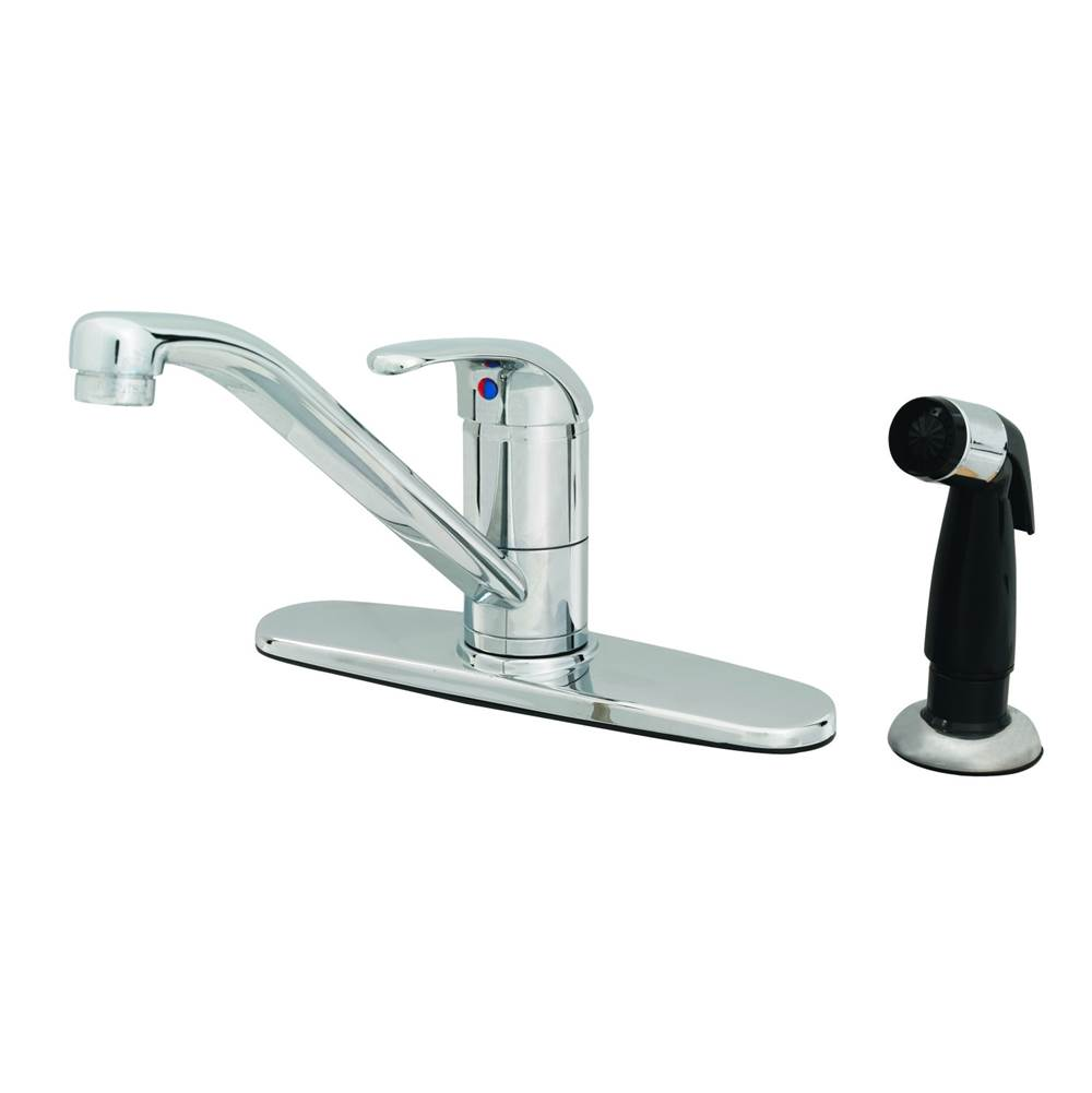 T&S Brass Deck Mount Kitchen Faucets item B-2730-WS