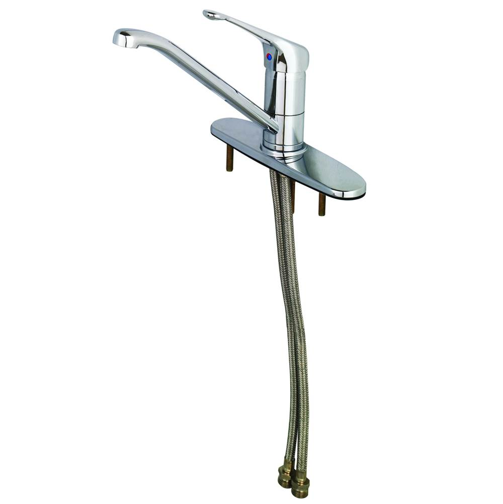 T&S Brass Deck Mount Kitchen Faucets item B-2731-LH
