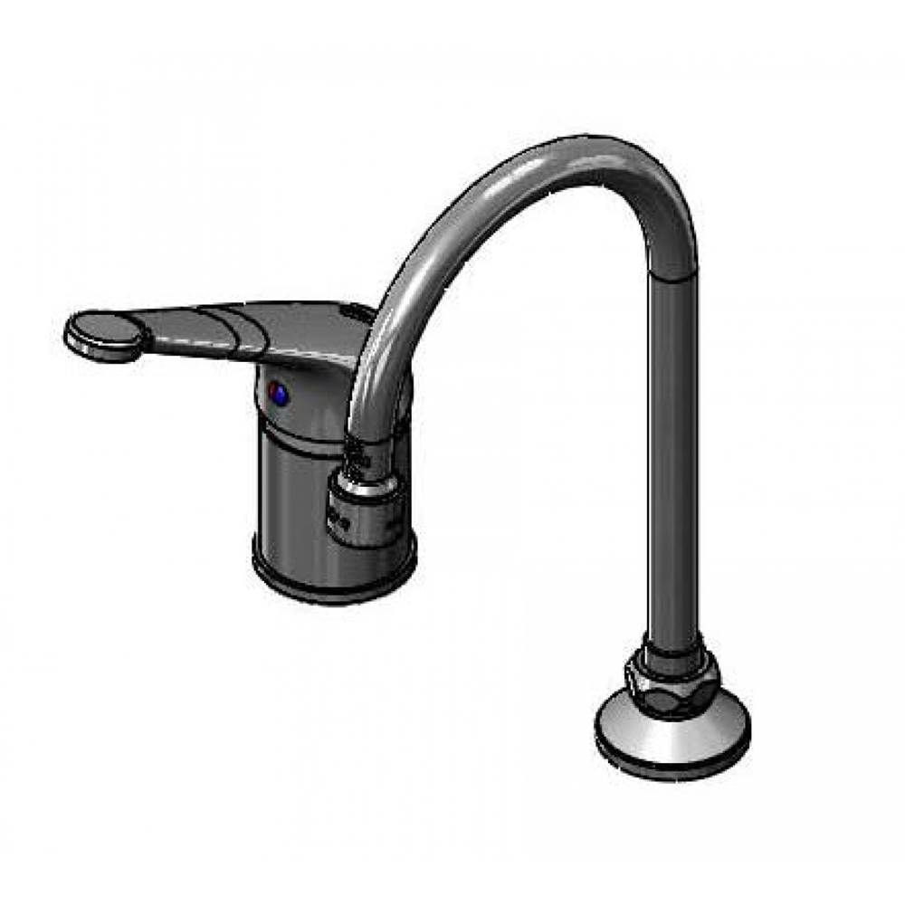 T&S Brass Single Hole Bathroom Sink Faucets item B-2742-LH