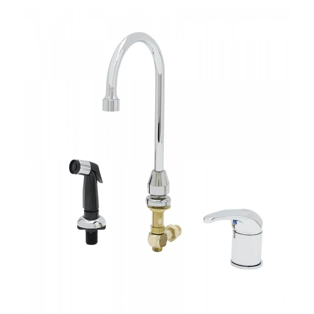 T&S Brass Single Hole Kitchen Faucets item B-2743
