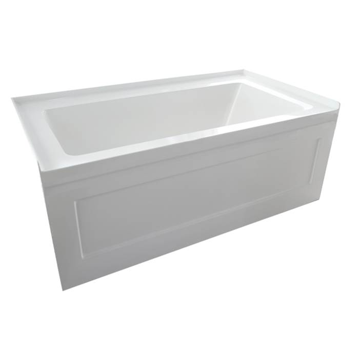 Valley Acrylic Three Wall Alcove Soaking Tubs item ESPACE6032SK