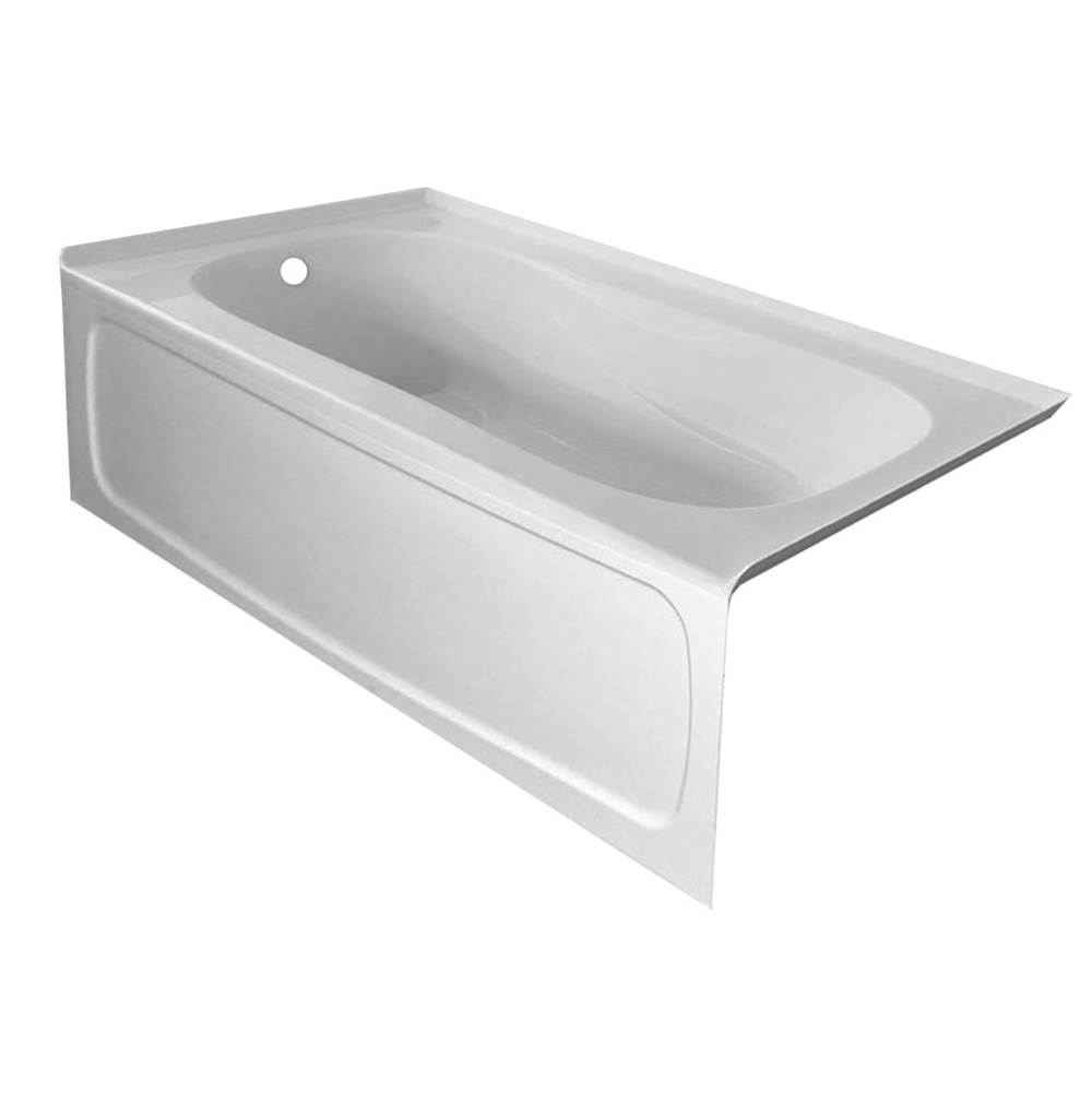 Valley Acrylic Three Wall Alcove Soaking Tubs item PRO6030SK-VHCR