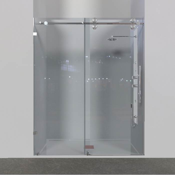 Gentil Valley Acrylic Shower Doors Item SD10A 120