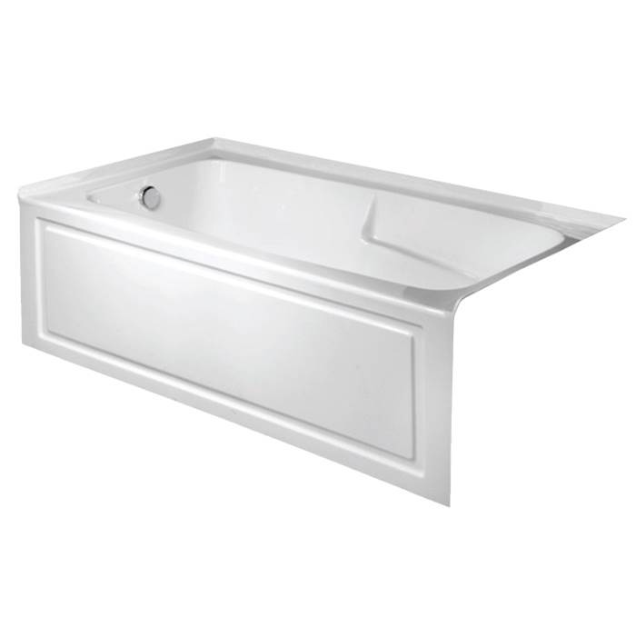 Valley Acrylic Three Wall Alcove Soaking Tubs item STARK6030SK-VHCR