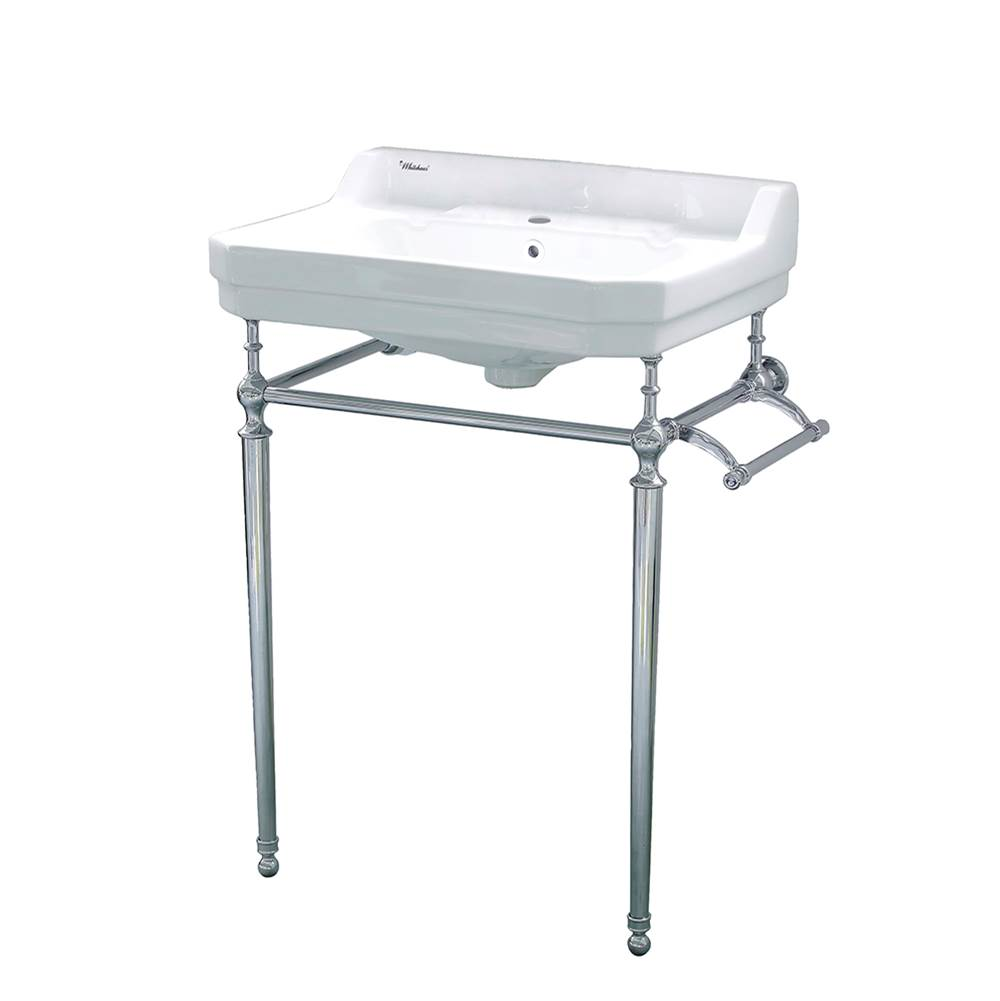 Whitehaus Lavatory Console Bathroom Sinks item WHV024-L33-1H-C